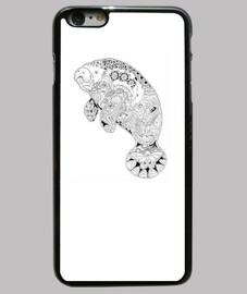 Manati Funda iPhone 6 Plus, negra