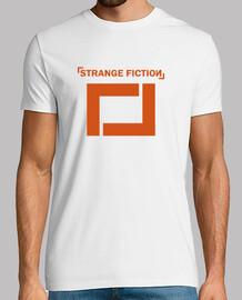 manches courtes  tee shirt  blanche  homme  / logo d'orange