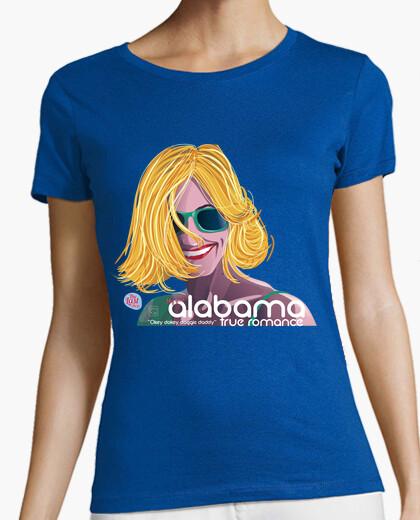 Tee-shirt manches courtes alabama vrai roman femmes
