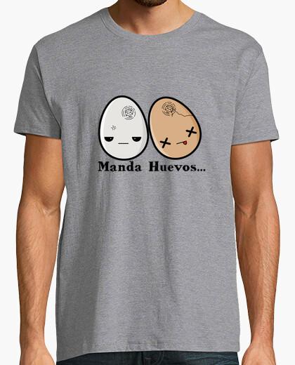 Camiseta Manda Huevos...