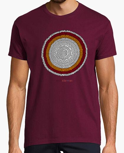 Tee-shirt mandala