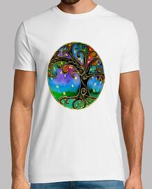 Mandala árbol modelo hombre
