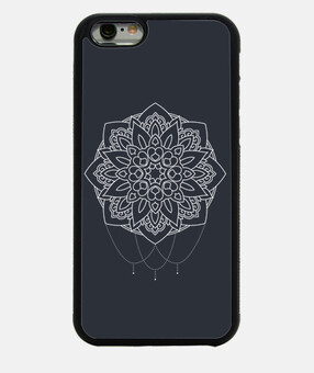 mandala blanc - iphone 6