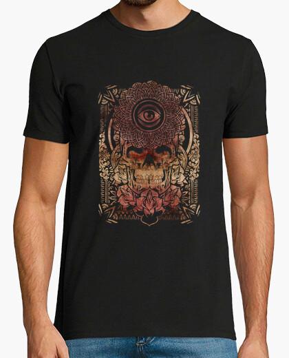 Camiseta mandala calavera