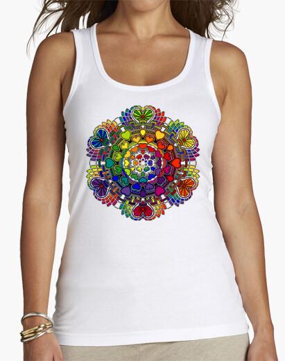 Camiseta Mandala Corazones