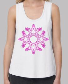 Mandala estrellado rosa