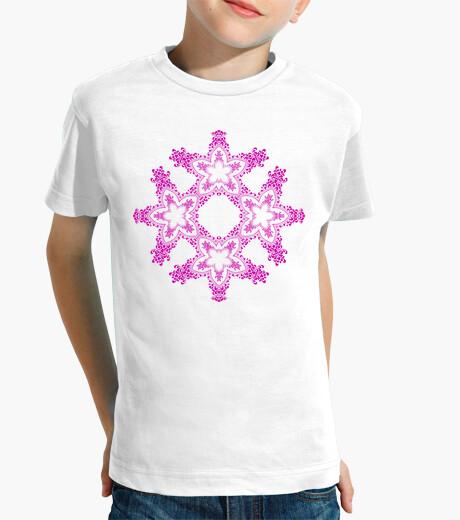 Vêtements enfant mandala étoilé rose