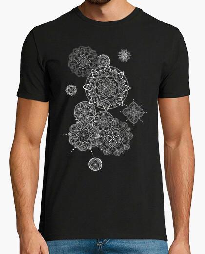T-shirt mandala fiori