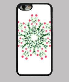 mandala fleur abstraite dessiné à l'
