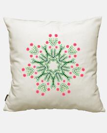 mandala fleur abstraite dessiné à l&#39