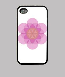 Mandala Flor de la Vida Violeta