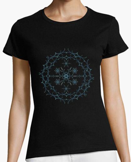 Camiseta Mandala floral
