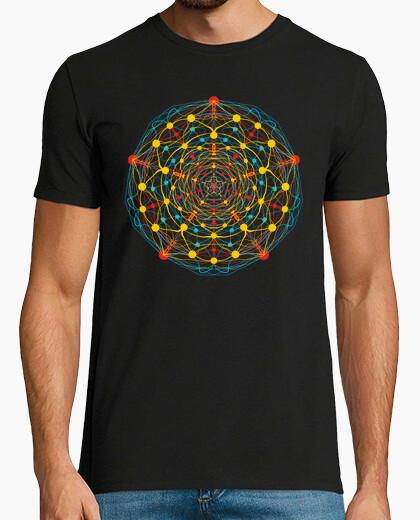 Camiseta mandala neural 1