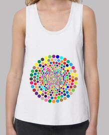 Mandala puntos concentricos