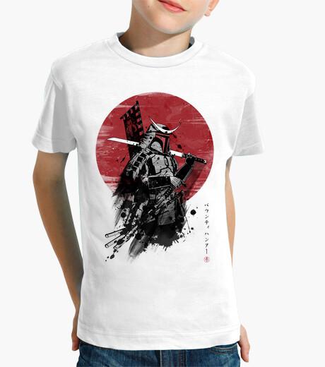 Mandalorian samurai kids clothes