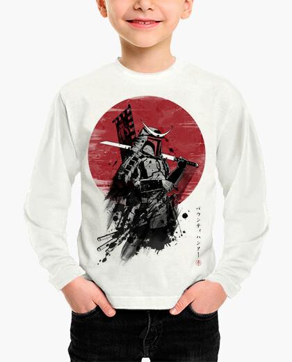 Ropa infantil Mandalorian Samurai