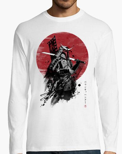 Camiseta Mandalorian Samurai
