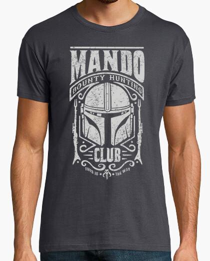 Camiseta Mando Bounty Hunting Club