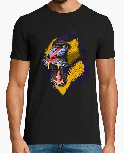 Camiseta Mandril