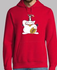 maneki cait hoodie