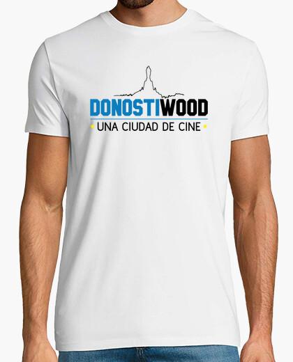 Camiseta Manga corta hombre - Logo DONOSTIWOOD