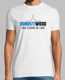 Manga corta hombre - Logo DONOSTIWOOD