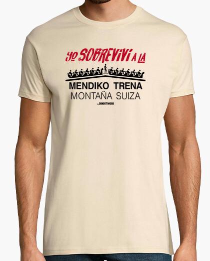 Camiseta Manga corta hombre - Montaña Suiza