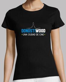 Manga corta mujer - Logo DONOSTIWOOD
