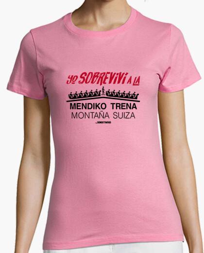 Camiseta Manga corta mujer - Montaña Suiza