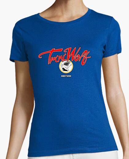 Camiseta Manga corta mujer - Trini Wolf
