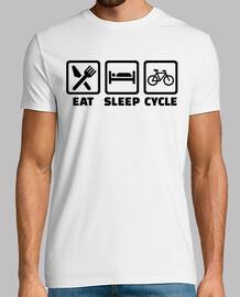 manger cycle cyclisme de sommeil