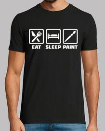 manger de la peinture de sommeil