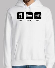 manger dormir faire du vélo