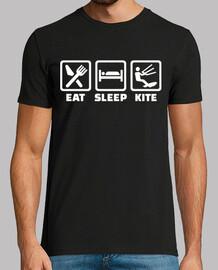 manger dormir kitesurf