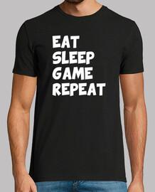 manger dormir répéter