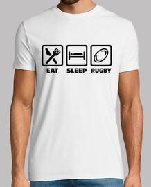 manger le rugby de sommeil