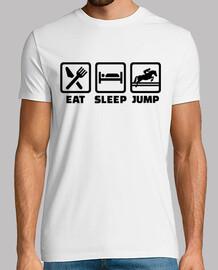 manger saut de saut d'obstacles du sommeil