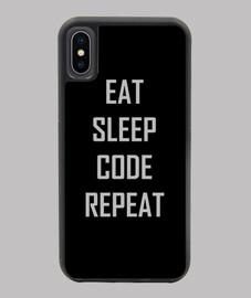 manger sommeil répéter le code