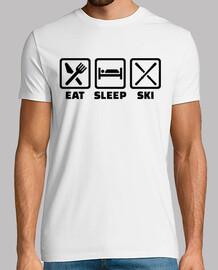 mangez le sommeil ski