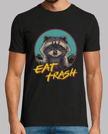 mangia la camicia della spazzatura