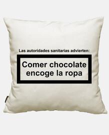 mangiare cioccolato si restringe abbigliamento