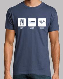 mangiare, dormire, bici