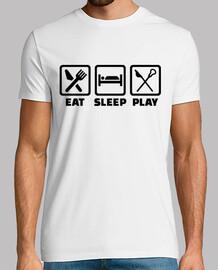 mangiare dormire giocare lacrosse