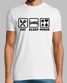 mangiare poker sonno