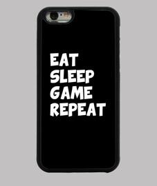 mangiare ripetere il gioco del sonno