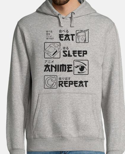 mangiare ripetizione anime sonno