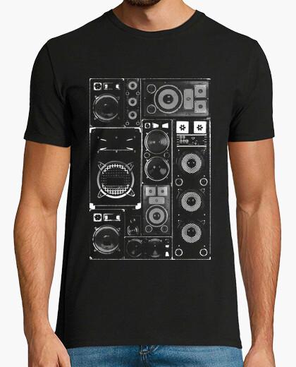 T-Shirt mann - lautsprecher