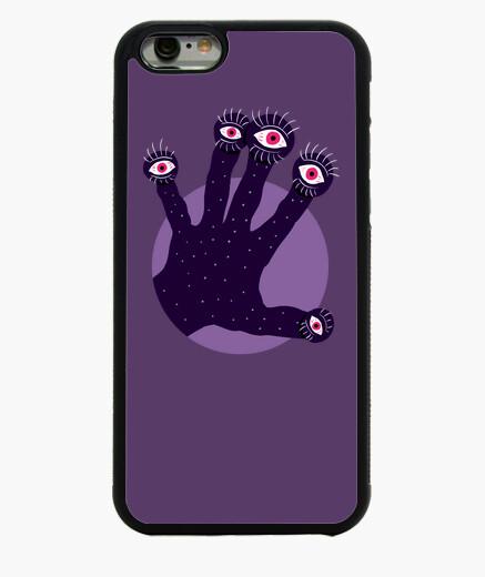 Funda iPhone 6 / 6S mano extraña con ojos que miran