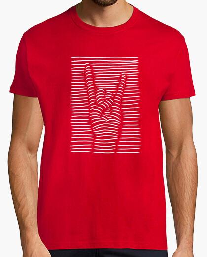 Camiseta Mano Rock and Roll