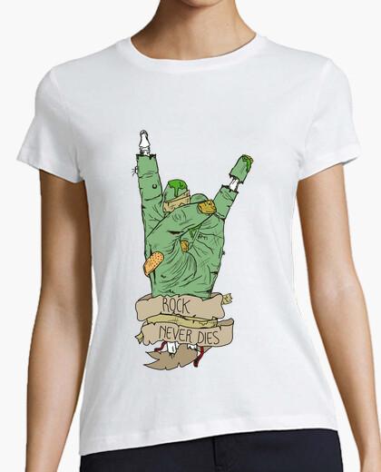 Camiseta Mano zombie - Chica